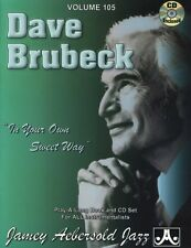 Jamey Aebersold - Dave Brubeck: In Your Own Sweet Way [New CD]