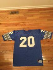 3ffb72fb Barry Sanders Detroit Lions NFL Vintage Champion Jersey Men's Size 52