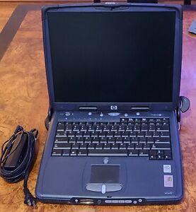 Vintage HP Omnibook XE3-CF (Intel Pentium III E @ 850 MHz, 512 MB RAM, Win98SE)