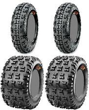 Four 4 Maxxis Razr XC ATV Tires Set 2 Front 21x7-10 & 2 Rear 20x11-9