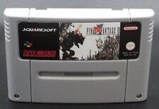 Final Fantasy VI (6) For Super Nintendo SNESPAL (English Version).