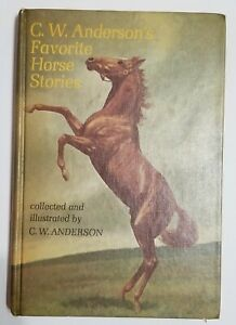 C. W. ANDERSON'S FAVORITE HORSE STORIES  vintage : hardcover