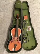 Vintage Antique Cremona Violin With Case