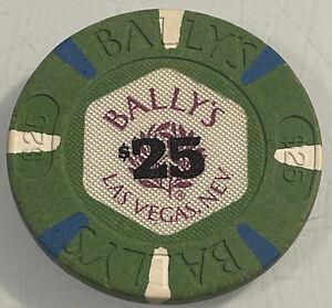 BALLY'S $25 Casino Chip Las Vegas Nevada 3.99 Shipping