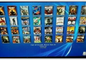 #CUSTOM 2TB HARDRIVE FOR JB PS3 WITH OVER 250 TITLES..READ DESCRIPTION..