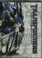 Transformers 2 La Vendetta del Caduto DVD Nuovo Collector's Edition Metal Box