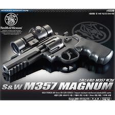 [ACADEMY] Smith&Wesson M357 Airsoft Pistol BB Gun 6mm/ 20mm Rail,Revolver,ABS