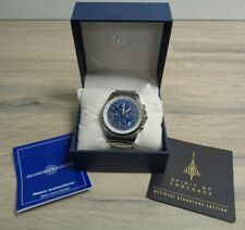 Spirit Of Concorde Mens Stainless Steel Watch Authenticity Certificate Boxed