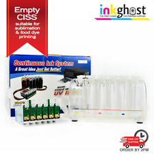 Empty Sublimation CISS for EPSON Photo 1410 using 81 81N 82N Cartridges