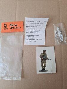 BELGO 1/35 White Metal WW2  British  Para - Arnhem 1944 Bren Gunner missing Base