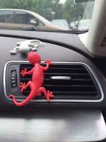 Audi Accessories Car Fragrance RED Gecko Air Freshener Dispenser Aromatic Scent