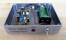 VLF Converter, 100 Hz à 100 kHz, Ready built in Dorset UK
