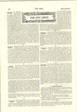1900 Oxford Cambridge Partita di Calcio Queens CLUB guerra Bill