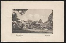 Postcard Dusseldorf GERMANY Malkasten view 1909
