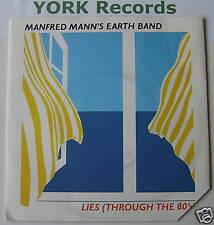"""MANFRED MANN'S EARTH BAND - Lies - Ex Con 7"""" Single"""