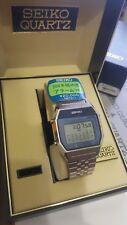 NOS Very Rare Vintage 1979 NOS Seiko █ A354 LCD Digital Calend