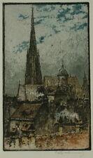 Luigi Kasimir ( 1881-1962 ) Wien - Die Stephanskirche.