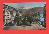 Suisse - MONTREUX - Jardin Anglais - Place du marché  (J8384)