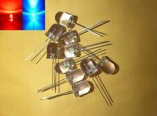 -- (20 pieces) 10mm Red and Blue alternately flashing LED light diode blinking