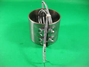 """Watlow Nozzle Heater 440V, 1400W, 1048 D about 4"""", 3.5"""" -- Used --"""
