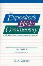 The Expositor's Bible Commentary with the NIV: Matthew Chapters 1-12 171114