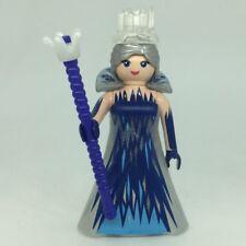 Playmobil reine des neiges robe marine