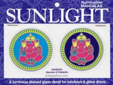 Illumination Mandalas Sunlight Small Window Sticker
