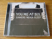 CD Album: You Me At Six : Sinners Never Sleep : Sealed