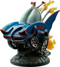 "BATMAN - 1966 Stylized Batmobile 8.5"" Polyresin Statue ~ Blue (Cryptozoic) #NEW"