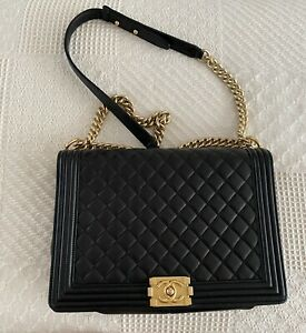 XL Quilted Boy Bag Chanel