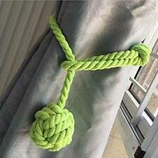 Handmade Curtain Cotton Rope Tie Backs Ball Tiebacks Holdbacks Home Decor QK