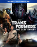 Transformers: The Last Knight [New Blu-ray + DVD, No Digital] Slipcover Included