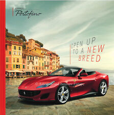 2017 FERRARI PORTOFINO VIP HARDCOVER PROSPEKT BROCHURE DEPLIANT IT & GB 5853/17