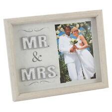 Mr & Mrs 4x6 inch Wedding Photo Frame NV308
