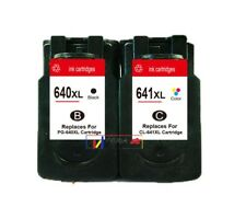 3x (2xPG640XL 1xCL641XL) Cartridge for Canon MG3160 MG3260 MG3560 MG3660 Printer