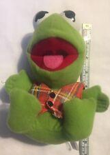 Baby Kermit the Frog 1987 Christmas Plush Jim Henson Muppets McDonald's