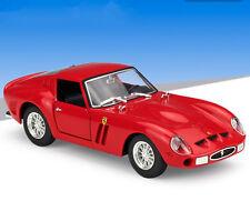 Bburago 1:24 Ferrari 250 GTO Diecast Metal Model Car Vehicle New In Box Red