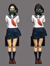 Resin Figure Kit 1/35 Girl with Mask Miniature Model Kit