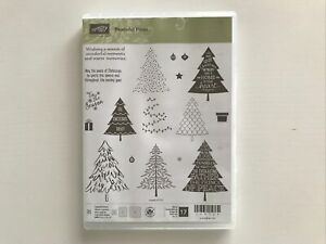 Stampin Up Peaceful Pines (retired)