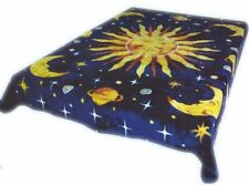 Sun Moon and Stars Brand New Korean Style cozy Queen size Blanket