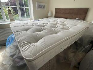Hypnos Super king Pillow Top mattress Medium-Firm same as Premier Inn