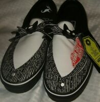 Vans x The Nightmare Before Christmas Halloween Slip On Jack Skellington Shoes