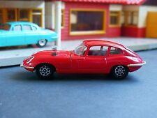 Corgi toys whizzwheels 374 jaguar e type 4.2 rouge