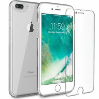 For iPhone 7 Plus Case Transparent Crystal Clear Case Gel TPU Soft Cover Skin