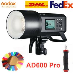 Godox AD600Pro AD600 Pro 2.4G TTL Wireless Flash Light Outdoor Speedlite 600Ws