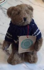 Vintage Boyd Bear With Stand Wearing Nautical Sweater Retro