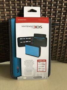 Nintendo 3DS Case (Power A, Folio, Blue, 2DS XL)