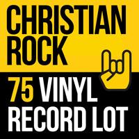 Mix Lot Of 75 Christian Rock CCM Alternative Vinyl LP Records. Factory Sealed.