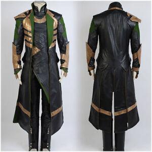 Thor World Avengers Loki Halloween Uniform Set