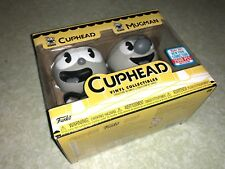 Funko Pop Cuphead & Mugman 2017 NYCC Exclusive EXCELLENT CONDITION SEALED